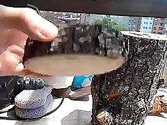 Fabricación de un nido casero para agapornis
